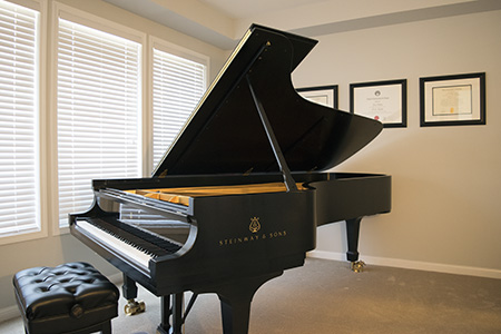 piano lessons in Markham, Ontario
